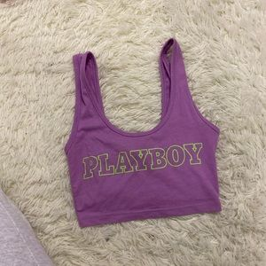 Playboy x Missguided crop